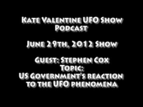 UFO Show Guest Stephen Cox