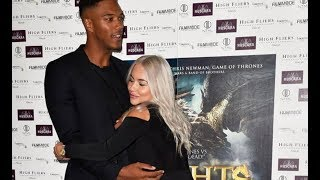 Love Island's Chyna Ellis cuddles up to Theo Campbell