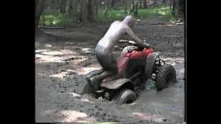 4 Wheeler Stuck in a Deep Mud Hole