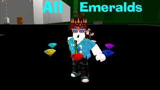 Sonic Ultimate RPG - All Chaos Emerald Locations - Roblox