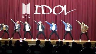 文化祭 ダンス BTS【防弾少年団】IDOL+FIRE 完コピ  (中学生)