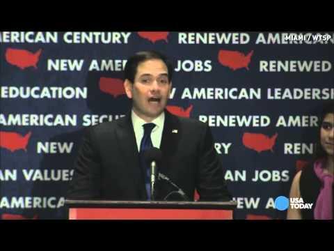 Marco Rubio, a true American politician, suspends campaign