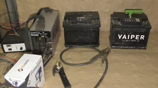 ВОССТАНОВЛЕНИЕ АККУМУЛЯТОРА СВАРОЧНЫМ ИНВЕРТОРОМ! Recovery battery WELDING INVERTER