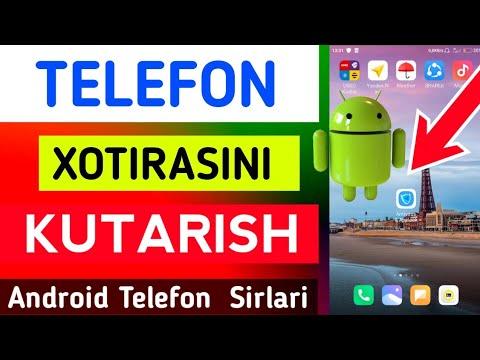 TELEFON XOTIRASINI KOʻPAYTIRISH 📲 Телефон Хотирасини Кутариш..