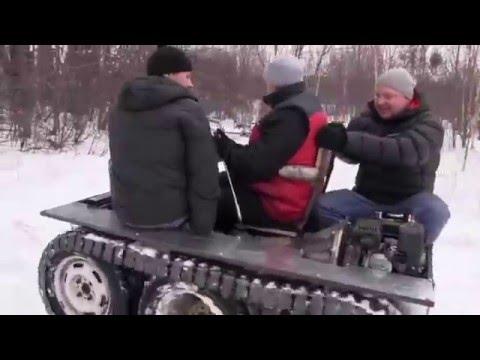 Вездеход Пермь.Крутое видео! Смотреть до конца!!!!