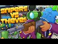THEY PUT ME IN THE GAME!! Snipers Vs Thieves!