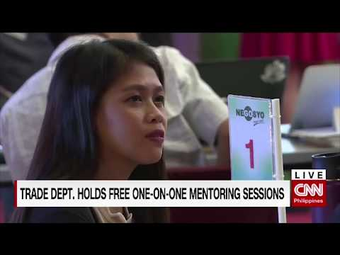 Trade department holds free one-on-one mentoring sessions