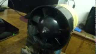 DIY electric ducted fan jet engine homemade