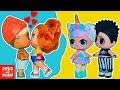 Единорожка ПРОТИВ Скейти! Видео для девочек Сборник! Мультики про куклы лол LOL Dolls