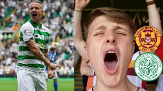 INCREDIBLE SCENES! CELTIC HAMMER MOTHERWELL - AWAYDAYS