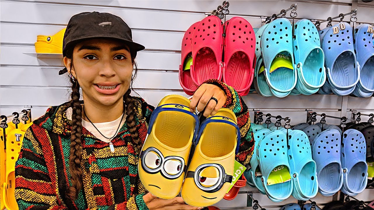 Buying My First Crocs I Have Hit Croc Bottom Youtube