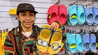 Buying my first Crocs 🐊 pls dont judge me