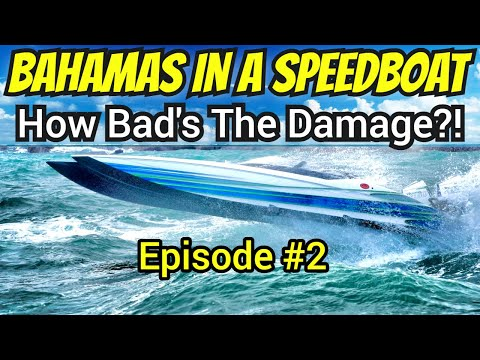 Rippin through the Caribbean in a very fast speed boat?  Viral series H2L - Bimini Ep2