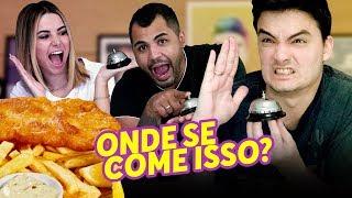 FELIPE SE IRRITOU COM O BRUNO??? - DESAFIO ADIVINHE O PAÍS!!!