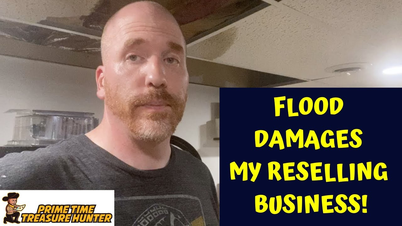 FLOOD Damages My Reselling Business! Rescue and Recovery