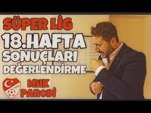 Süper Lig 18.Hafta Sonuçları
