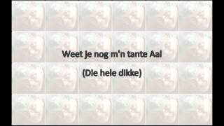 Robert Long - He Gezellig (with lyrics on screen)