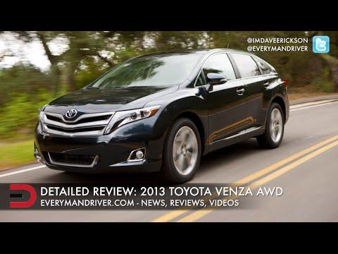 Hereu0027s The 2013 Toyota Venza On Everyman Driver   YouTube