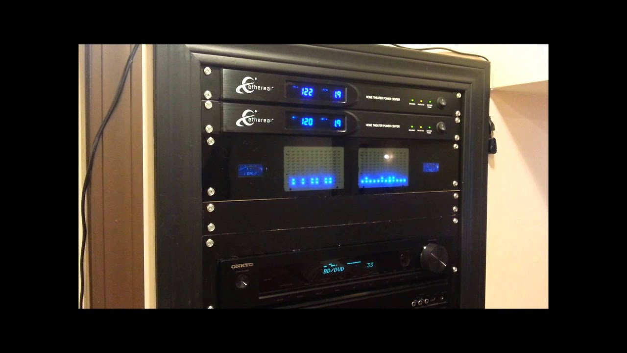 home theater rack specturm analyzer youtube. Black Bedroom Furniture Sets. Home Design Ideas