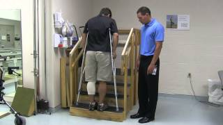 Using Crutches after Hip, Knee or Ankle Surgery Video