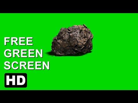 FREE HD Green Screen FALLING CRASHING ROCKиз YouTube · Длительность: 34 с
