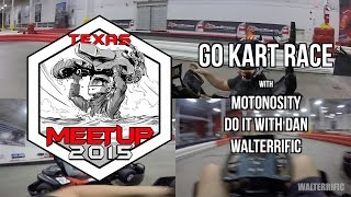 Go Kart Race with Motonosity & Do It With Dan