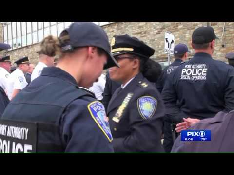 Highest-ranking woman at Port Authority Police Department retires