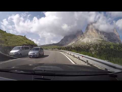 The Dolomite Road Italy 3.9.2016