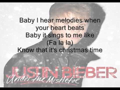 Fa la la  By Justin Bieber ft Boyz II Men  ( Lyrics )