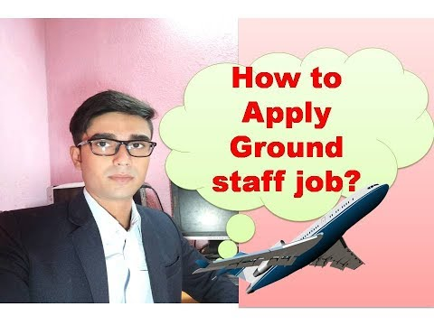 How to Apply Ground staff job in ground handling company|at Airport|in India | by AVIATION DREAMER