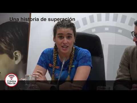 Marta Francés. Atleta paralímpica de Alcobendas y la Carrera del Cáncer