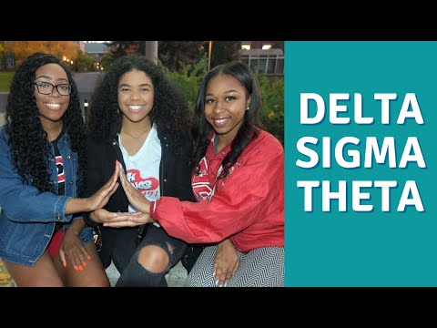 Delta Sigma Theta Sorority Inc. (MGRW Yardshow 2018)