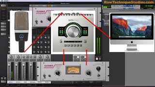 Recording with the Apollo Twin - Compression during recording