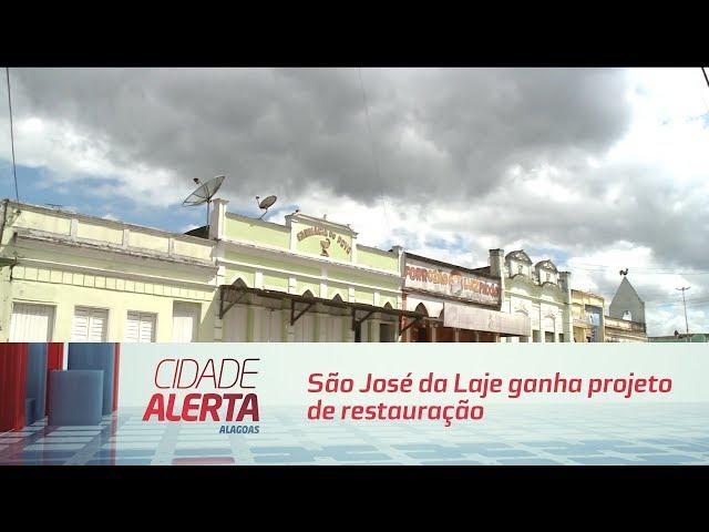 São José da Laje ganha projeto de restauração em prédios históricos