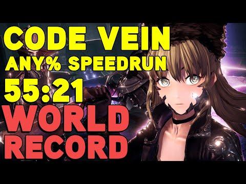 Code Vein Any% Speedrun In 55:21 (WORLD RECORD 2020/02/19)