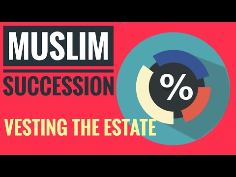 02. Vesting of the Estate | Muslim Law of Succession (Sunni) | Bangla | Law Cafe