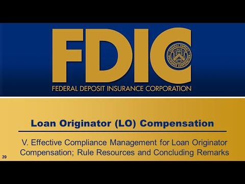 Loan Originator Compensation - Compliance Management and Conclusion