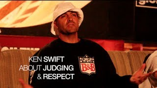 Catch The Flava KNOWLEDGE - KEN SWIFT about JUDGING & RESPECT