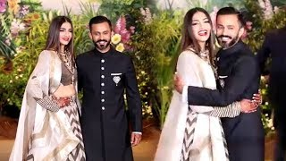 LIVE Sonam Kapoor & Anand Ahuja's GRAND ENTRY At Their Wedding Reception