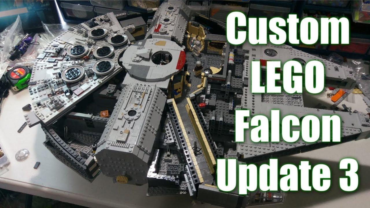 Custom Lego UCS Millennium Falcon: Update 3   INTERIOR!!!