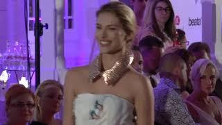 Fashion show - Beata Rajska 2018-2019 in Karlovy Vary International Film Festival with Iva Kubelkova