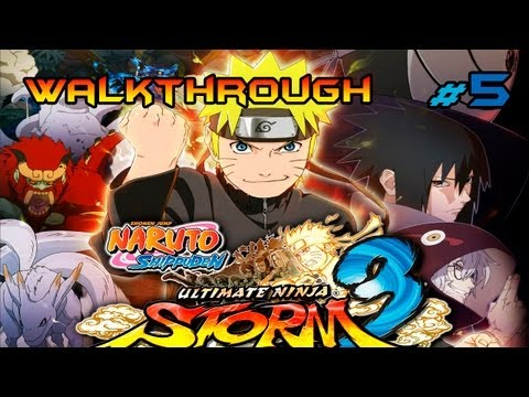 Naruto Shippuden: Ultimate Ninja Storm 3 | Capitulo 2 (1/3) | Equipo 7 Reunido | Español