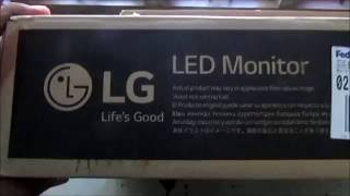 LG 20M38H Unboxing LED Monitor