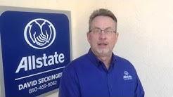 David Seckinger - Allstate Pensacola - Testimonial