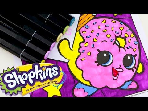 how to draw a shopkin donut