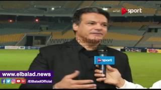 شاهد ..تفاصيل المشادة بين إبراهيم حسن و'جلال' خلال مباراة المصري والمقاصة ..فيديو