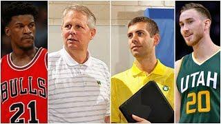 Celtics Think Jimmy Butler & Gordon Hayward Are Both Possible