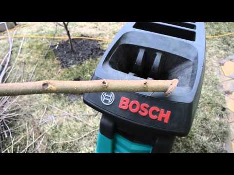Видео обзор: Измельчитель BOSCH AXT 25 D