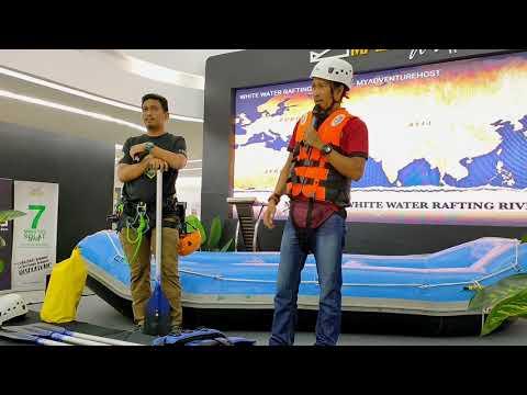 Tahan Sports anjur aktiviti whitewater rafting mulai minggu hadapan