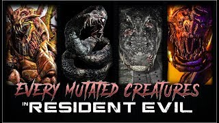 CREATURES THAT TURNED into B.O.W. BOSSES in Resident Evil   Boss Battle/Fight Gameplay   60ᶠᵖˢ ᴴᴰ ✔